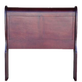KAREN SLEIGH HEADBOARD (3/4) 'LIGHT MAHOGANY'