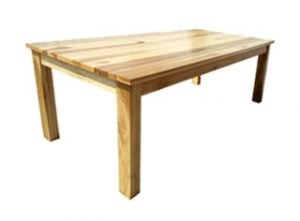 LOCAL DINING TABLE 8STR (1800 x 1100) 'TULIP' solid hardwood