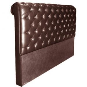 CHESTERFIELD HEADBOARD (DOUBLE) 'LEATHER STD' cape ox