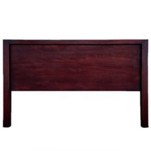 MOD HEADBOARD (DOUBLE) 'DARK MAHOGANY'