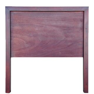 MOD HEADBOARD (SINGLE) 'LIGHT MAHOGANY'