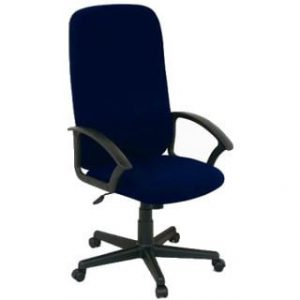 MONTANA HIGH BACK OFFICE CHAIR 'BLUE'