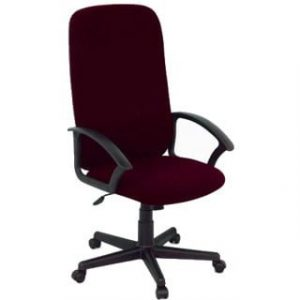 MONTANA HIGH BACK OFFICE CHAIR 'BURGANDY'