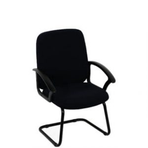 MONTANA VISITORS CHAIR 'BLACK'
