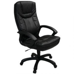 MUSTANG HIGH BACK OFFICE CHAIR 'BLACK BASE'
