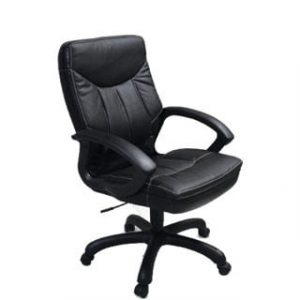 MUSTANG MID BACK OFFICE CHAIR 'BLACK BASE'