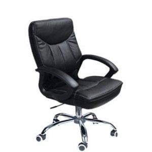 MUSTANG MID BACK OFFICE CHAIR 'CHROME BASE'