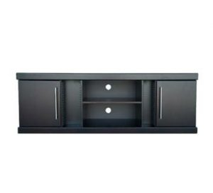 SAMOS 2DOOR PLASMA +DVD +CD RACKING (1850 X 470) 'BLACK'