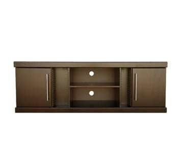 SAMOS 2DOOR PLASMA +DVD +CD RACKING (1850 X 470) 'BROWN'