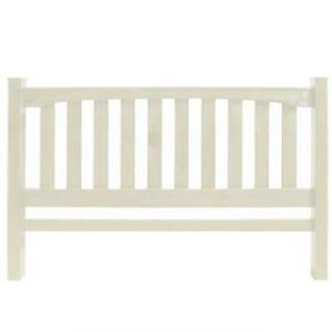 BUD SB HEADBOARD (DOUBLE) 'WHITE'