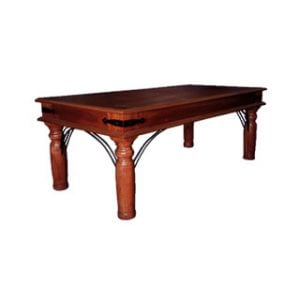 ANNA COFFEE TABLE (1200 x 600) 'DARK MAHOGANY'