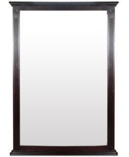ANTIQUE MIRROR (1000 X 1300) -MAHOGANY-