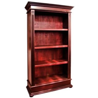 ANTIQUE BOOKCASE (1040 X 1890) OPEN 'dark mahogany'