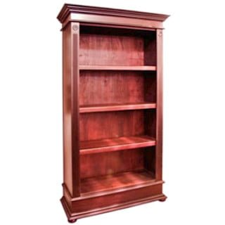 ANTIQUE BOOKCASE (1040 X 1890) OPEN 'light mahogany'