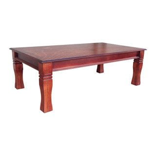 BALTIMORE SIDE TABLE (600 X 600) 'LIGHT MAHOGANY'