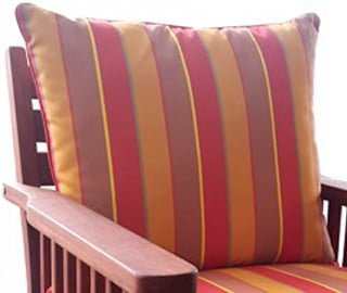 BAY PLUNGER CUSHION BACK  'PATIO2/PROOF' col summer