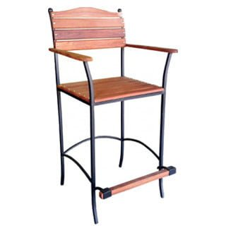 BAY BAR CHAIR 'SOLID TEAK'