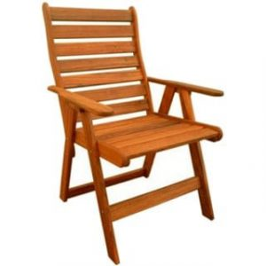 BAY HIGHBACK CHAIR 'SOLID TEAK'