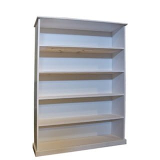 BUD BOOKSHELF (1200 X 300 X 1800) -WHITE-