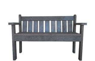 ECO 2 SEATER PARK BENCH