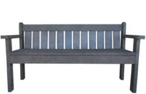 ECO 3 SEATER PARK BENCH (1600)