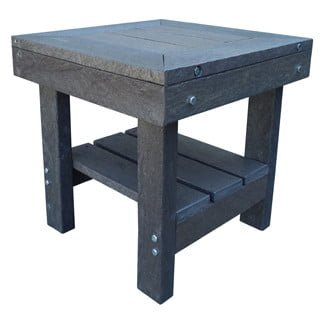 ECO SIDE TABLE (600X600) 'recycled plastic'