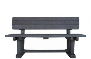 ECO SLEEPER 3 SEATER PARK BENCH
