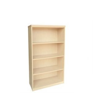 IMPACT 4TIER BOOKCASE (800 X 380 X 1500) MAPLE