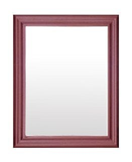 KAREN MIRROR (1000 X 800) -LIGHT MAHOGANY-
