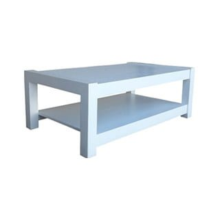 MOD COFFEE TABLE (1200 X 700) 'WHITE'