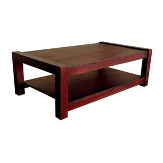 MOD COFFEE TABLE (1400 X 800) 'LIGHT MAHOGANY'