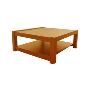 MOD COFFEE TABLE SQUARE (950 X 950) 'ANTIQUE'