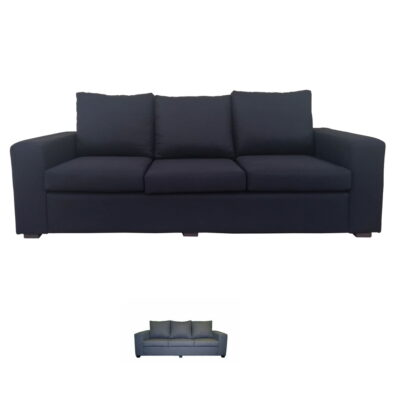 Mod 3 seater couch fabric