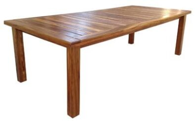 TUGELA 8 SEATER table (2400 X 1100) 'solid kiaat'