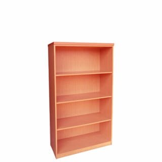IMPACT 4TIER BOOKCASE (800 X 380 X 1500) CHERRY ROYAL