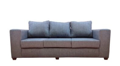 TOWN 3SEATER SOFA (2390 X 940) 'LG' lake blue 9119