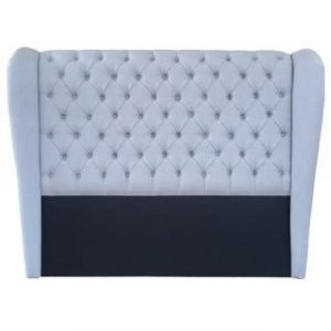 CHESTERFIELD WING HEADBOARD (DOUBLE) 'LG' 9106