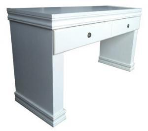 SAMOS 2 DRAWER SERVER / DRESSER 'WHITE WASH'