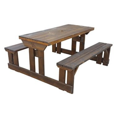 Outdoor pub benches