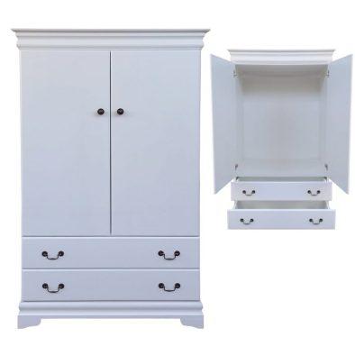 Cindy wardrobe white